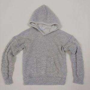 Naartjie 6 Boys Hoodie 100% Cotton Cable Sweater
